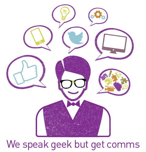 we speak geek but comms