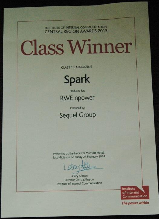 Class Winner